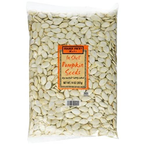 Trader Joes Nuts Inshell Pumpkin Seeds 14oz Set of 3