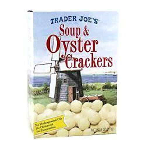 Trader Joes Soup and Oyster Crackers, 8oz