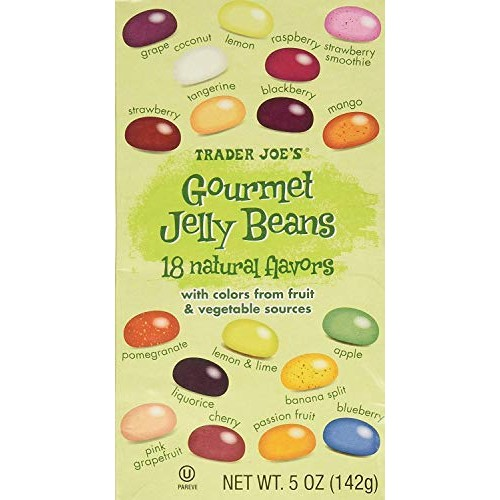 Trader Joes Gourmet Jelly Beans - 5 Oz 2 Pack