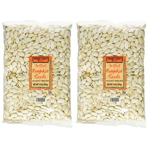 Trader Joes in Shell Pumpkin Seeds Pack of 2