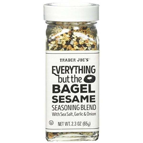 Trader Joes Everything but the Bagel Sesame Seasoning Blend 2.3...