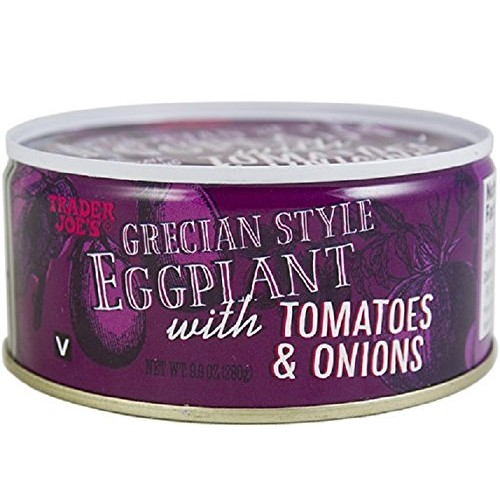 Trader Joes Grecian Style Eggplant with Tomatoes & Onions 9.9 O...