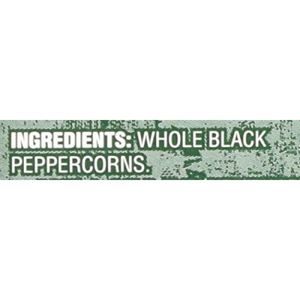 Trader Joes Black Pepper Peppercorns with Grinder -- 2-PACK, 1.8oz
