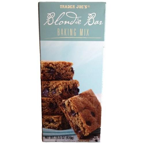 Trader Joes Blondie Bar Baking Mix