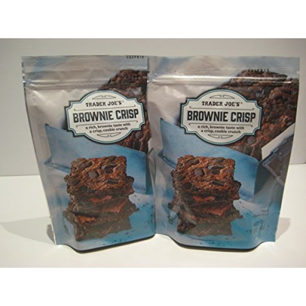 Trader Joes Brownie Crisp, 2- 5 Oz Packages.