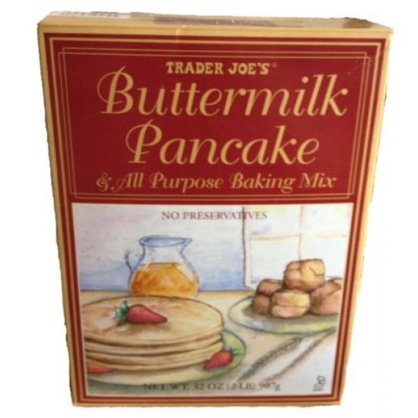 Trader Joes Buttermilk Pancake & All Purpose Baking Mix - 32 Ou...