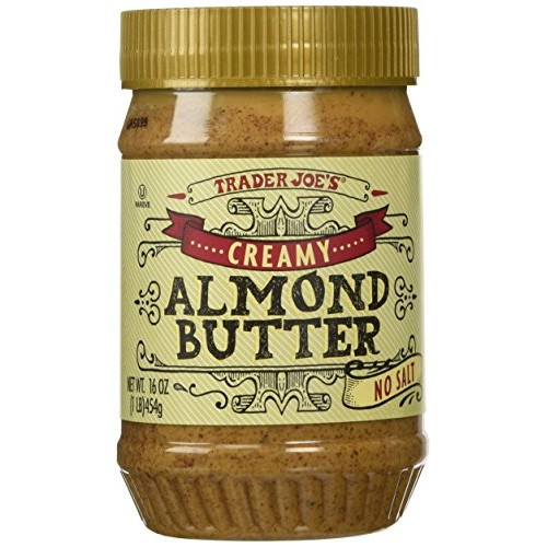 Trader Joes Creamy Almond Butter No Salt 16 Oz