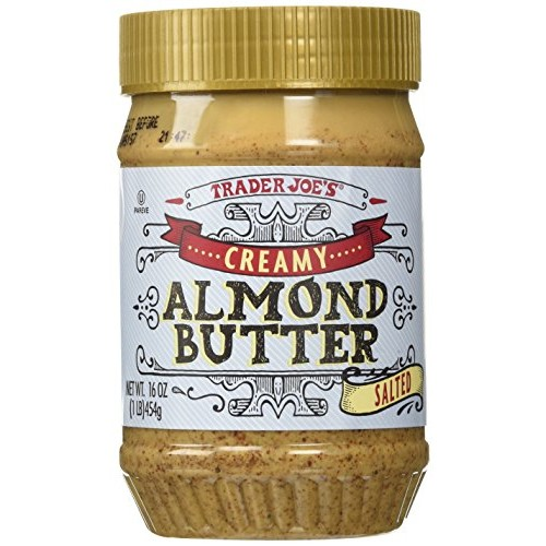 Trader Joes Creamy Almond Butter Salted