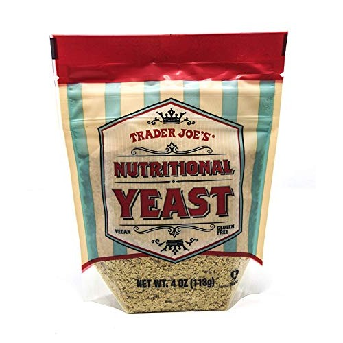 Trader Joes Nutritional Yeast - Vegan, Gluten-free, 4 Ounce
