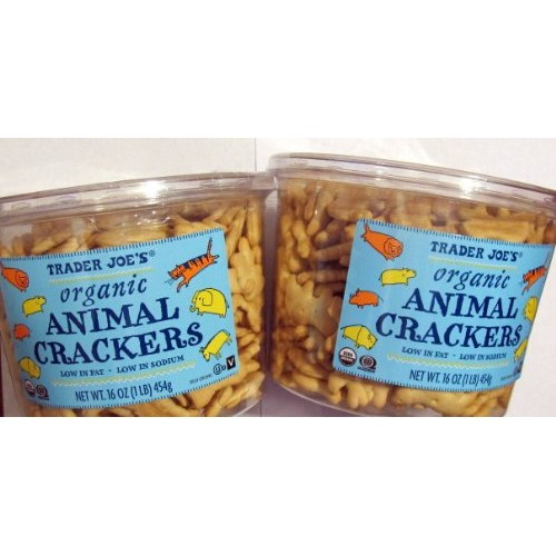 Trader Joes Organic Animal Crackers---2 pkgs.