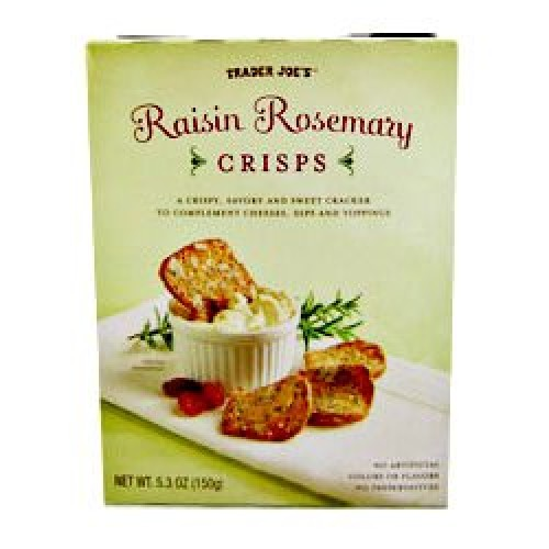 Trader Joes Raisin Rosemary Crisps