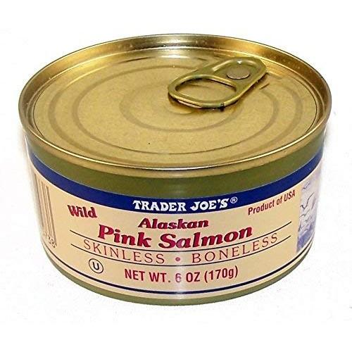 Trader Joes Wild Alaskan Pink Salmon – Salt Added Pack of 3