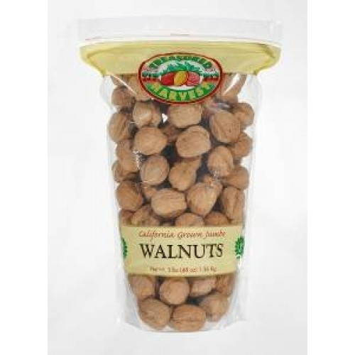In Shell Jumbo Natural Walnuts - 3 lb.