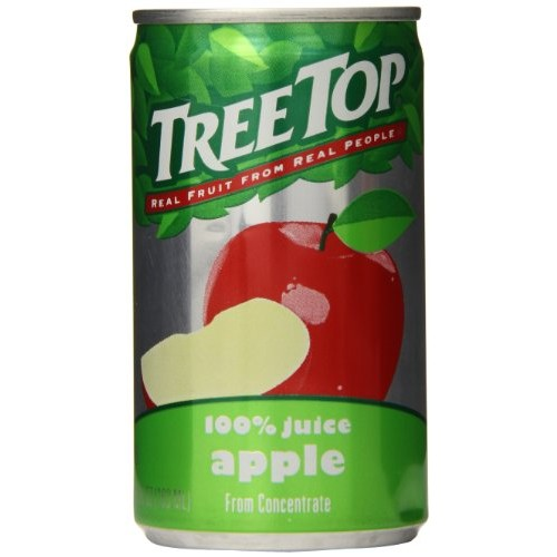 Tree Top Apple Juice, 5.5 Ounce Pack of 24