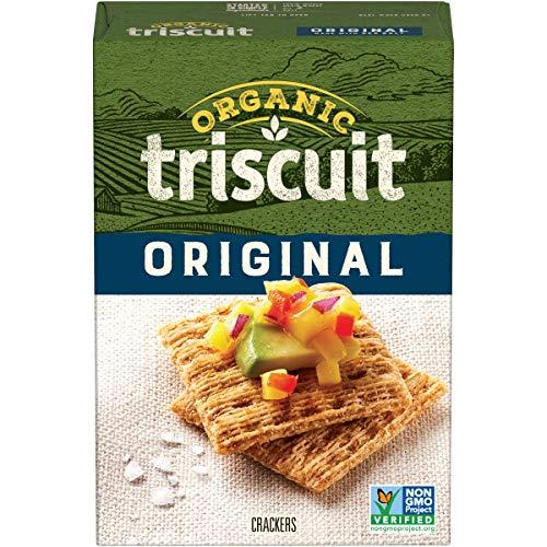 Triscuit Organic Original Crackers Pack of 6 Non-GMO