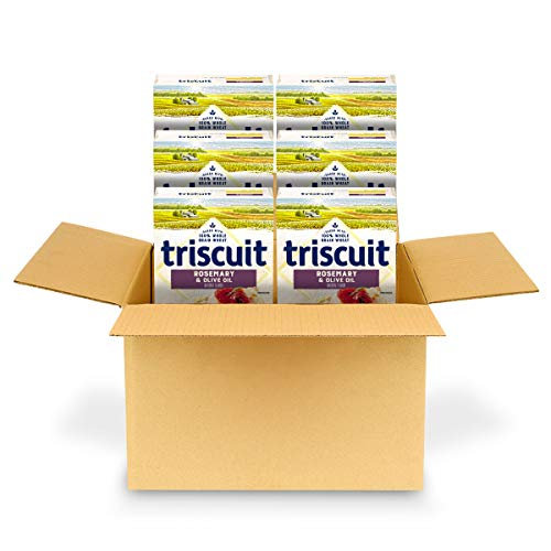 Triscuit Rosemary & Olive Oil Whole Grain Wheat Crackers, 6 - 8....