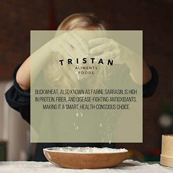 Tristan Foods Gluten Free Organic Buckwheat Flour 2 lbs. High ...