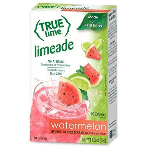 NEW FLAVOR: True Lime | WATERMELON AQUA FRESCA (Pack of 4) 10ct ...