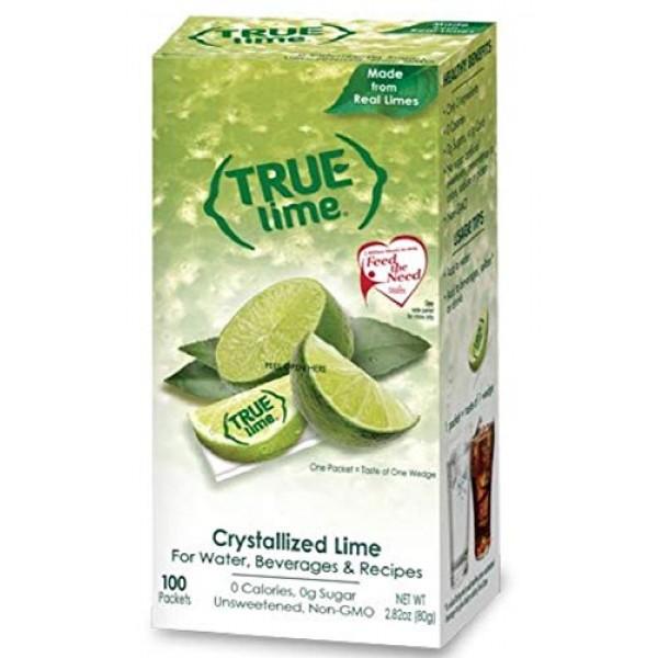 True Lime Bulk Dispenser Pack, 100 Count 2.82oz