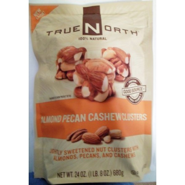 True North Almond Pecan Cashew Cluster - 24oz - Pack of 2