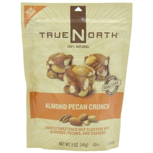 TRUE NORTH Almond Pecan Crunch, 5-Ounce Pack of 6