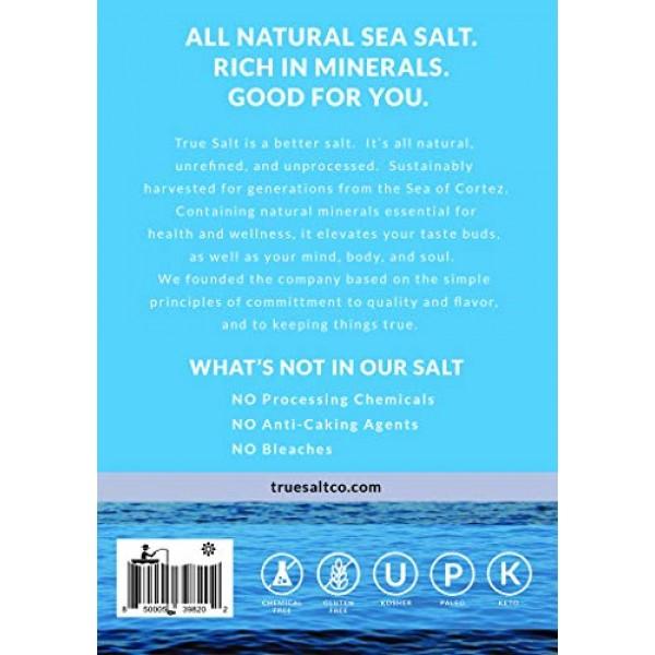 True Salt - Gourmet Flake Salt - 1 lb Box - Premium Unprocessed ...