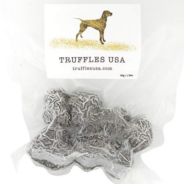TRUFFLES USA Frozen Black Summer Truffles 7oz - Imported from It...