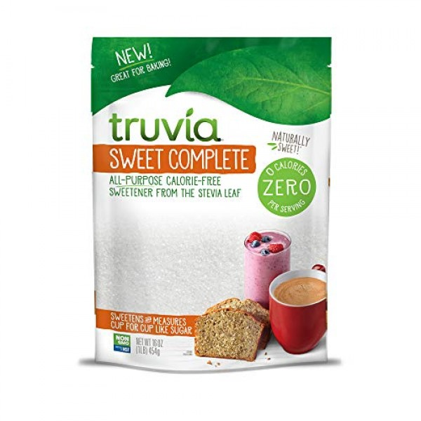 Truvia Sweet Complete All-Purpose Calorie-Free Sweetener from Th...