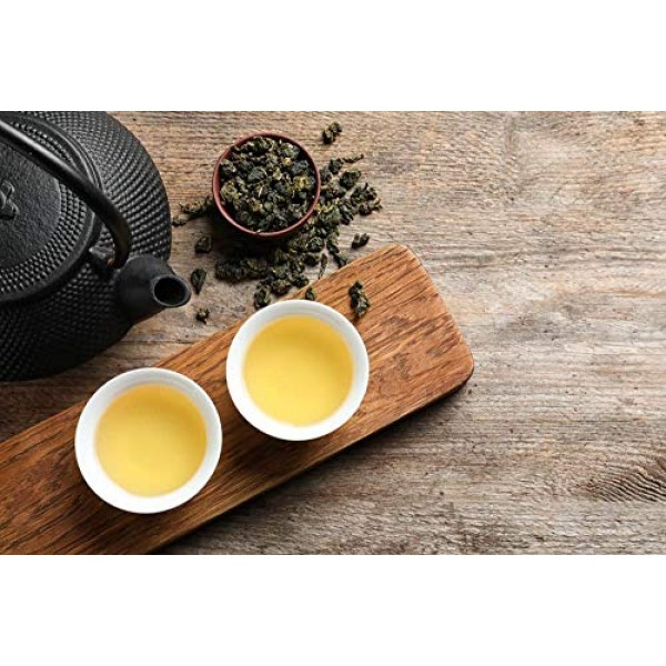 Decaffeinated Oolong Tea Loose Leaf, Great For Hot Brew, Iced Or...