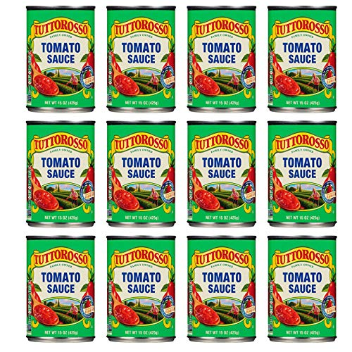 Tuttorosso   Canned Tomato Sauce   15oz Can Pack of 12