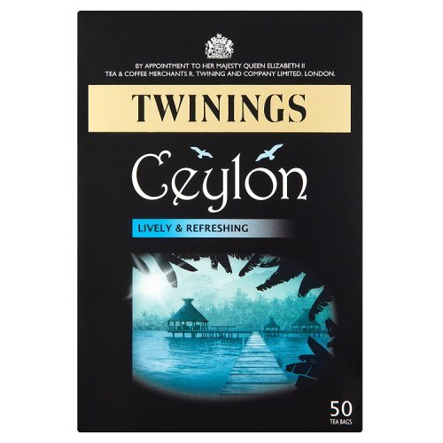 Twinings (UK) Ceylon 50 tea bags