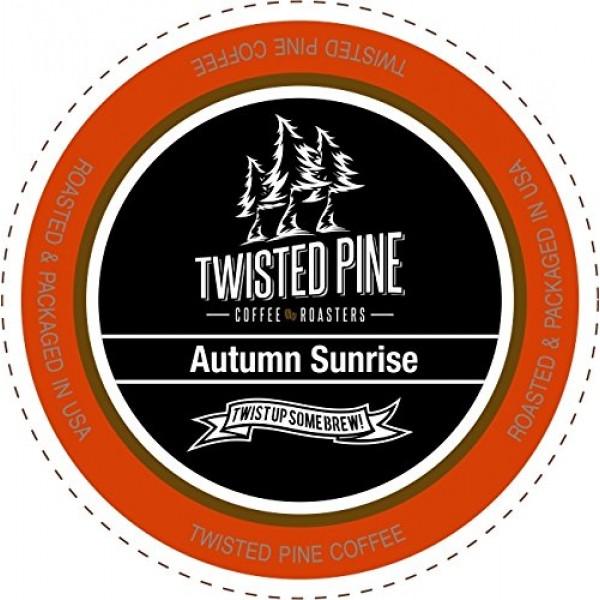 Twisted Pine Coffee Autumn Sunrise Breakfast Blend Coffee, Light...