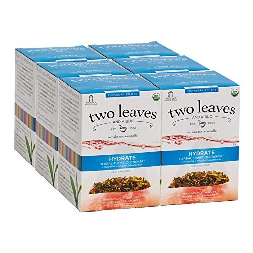 Two Leaves and a Bud Organic Hydrate Herbal Thirst Quencher Tea ...