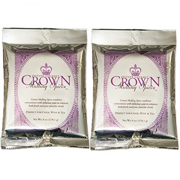Mulling Spices Instant Gourmet Mix | Crown Mulling for Apple Cid...
