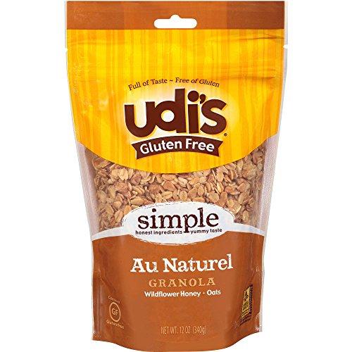Gluten Free Au Naturel Granola, Wildflower Honey Oats,Whole Grai...