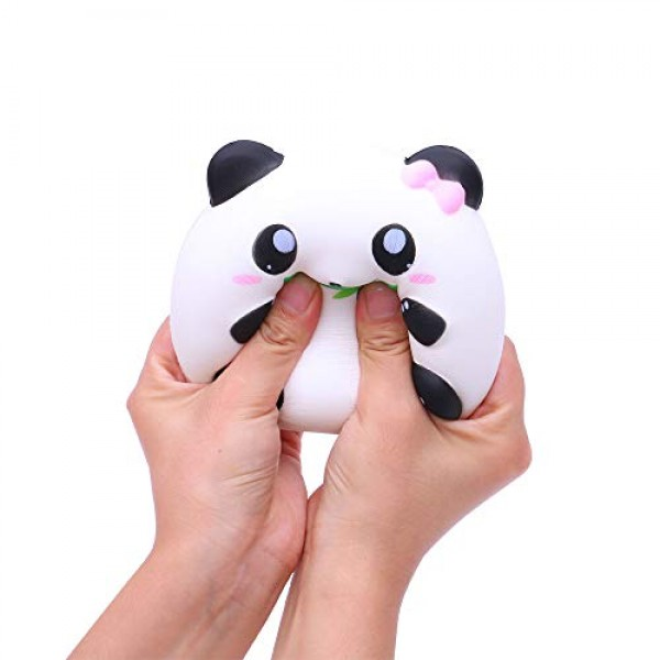 Ulanda Squishies Toy Slow Rising Cute Panda Scented Squeeze Toys...