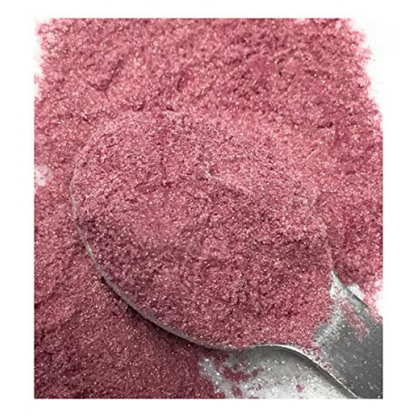 Ultimate Baker Pink Luster Dust - Kosher Certified Edible Natura...