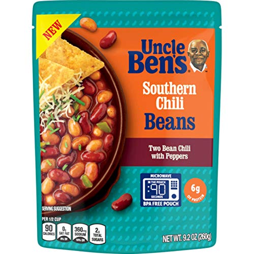 Uncle Bens Ready To Heat Beans, Pinto Kidney Chili, 9.2 Ounce ...
