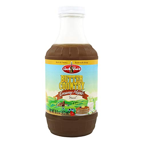 Premium Buttermilk Syrup for Pancakes - Butter Country Maple Syr...