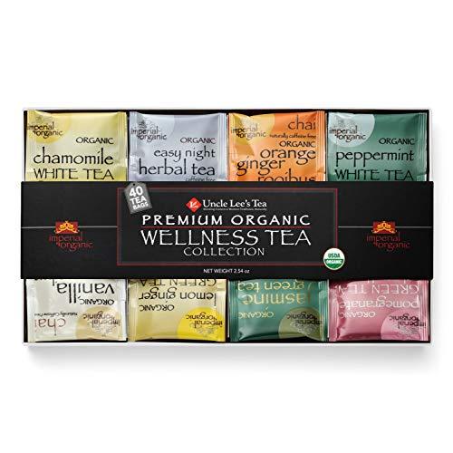 Uncle Lee's Tea Premium Organic Wellness Tea Collection | Sample...