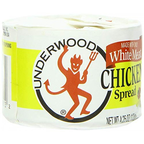 Underwood Chicken Spread, 4.25 Ounce Pack of 24