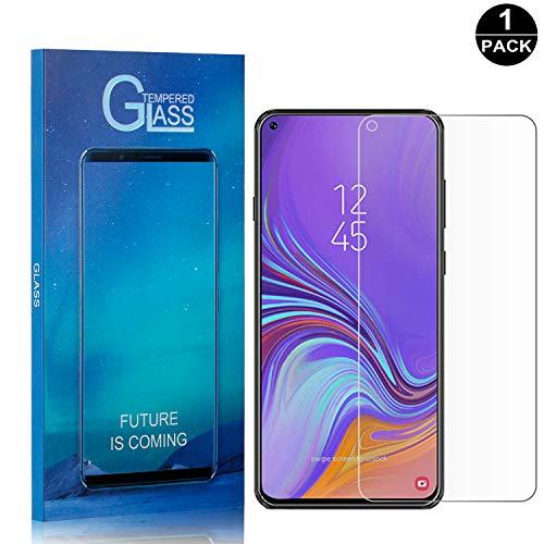 Galaxy A8S Tempered Glass Screen Protector, UNEXTATI Premium Scr...