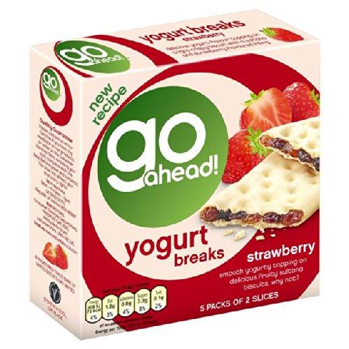 Go Ahead Yoghurt Breaks Strawberry 5 per pack