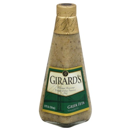 Girards Greek Feta Vinaigrette Dressing 12 oz Pack of 2