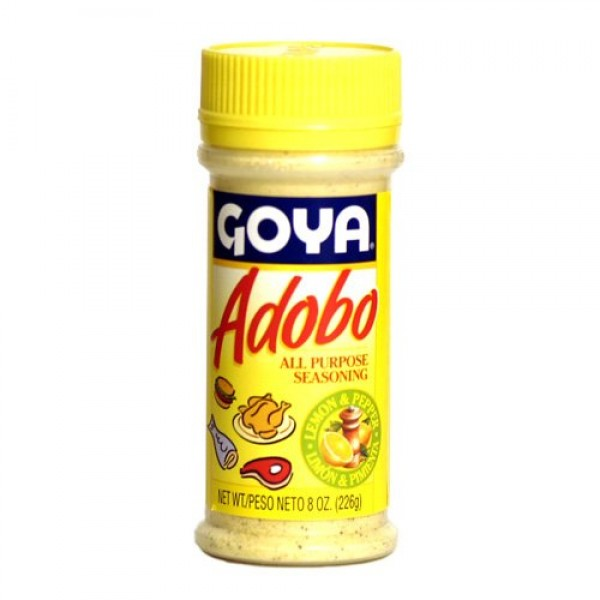 Goya Adobo with Lemon & Pepper - 8 oz.