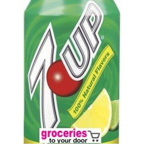 7-Up Soda, 8 oz Can Pack of 24