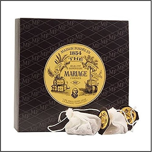 Mariage Freres - FRENCH BREAKFAST TEA TB7000 - 30 Muslin Tea S...