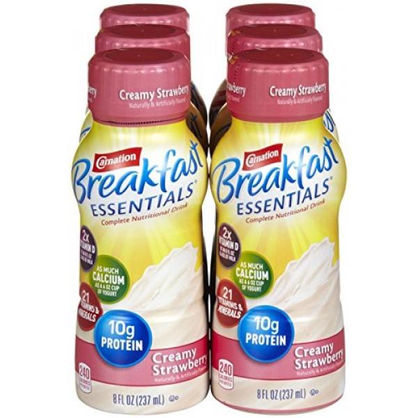 Carnation Breakfast Essentials Complete Nutritional Drink Creamy...