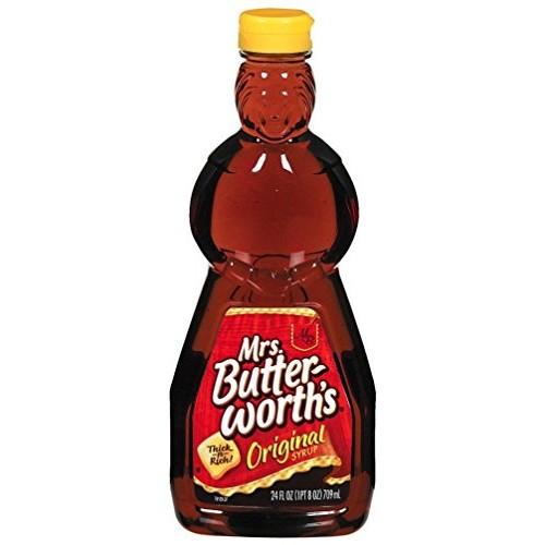 Mrs. Butterworths Original Syrup, 24-Ounce (Pack of 2)