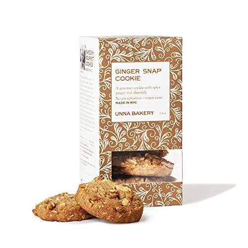 Unna Bakery, Swedish Ginger Snaps cookie. A crisp, spicy round f...